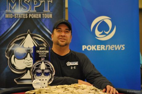 Blake Bohn Wins 2014 Mid-States Poker Tour Grand Falls Casino for $54,607