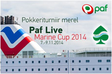 Paf Live Marine Cup 2014 toimub 7-9. november
