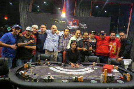 La final de torneo en el Room Pabellón Poker en Guadalajara