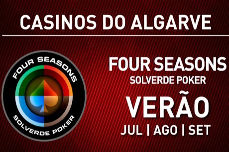 Programação Semanal Four Seasons Solverde Poker Algarve (21 a 24 Agosto)