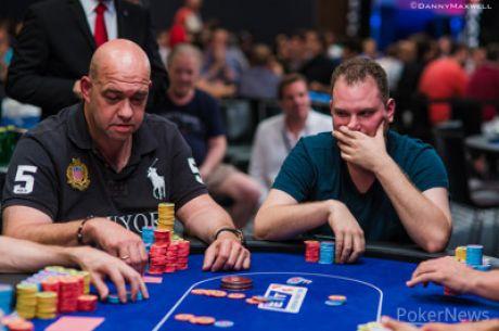 PokerStars EPT Barcelona Super High Roller - Van Hoof exit, Klein leidt laatste negen