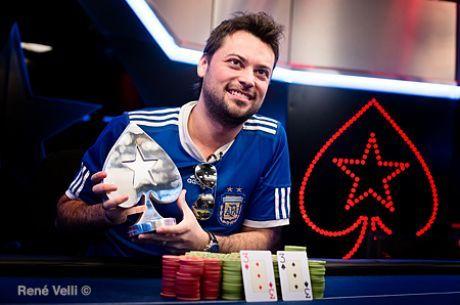 Matías Ruzzi, campeón del Estrellas Poker Tour en Barcelona
