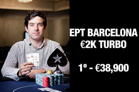 João Barbosa Vence Torneio €2k Turbo EPT Barcelona (€38,900)