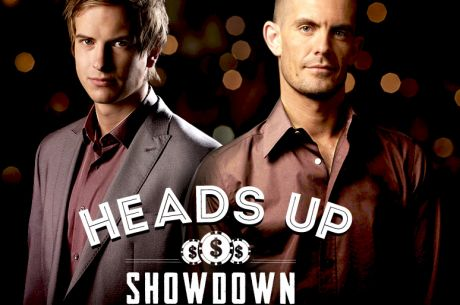 "Блом и Хансен в $50,000 ""Heads Up Showdown"" мач в Тилта"