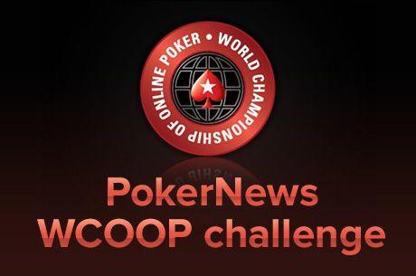 PokerNews сателит с добавените 18х$215 WCOOP билета на 8...