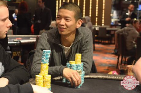 2014 PokerStars.net ANZPT Melbourne Main Event Day 2: Chua Maintains Lead with 34 Left