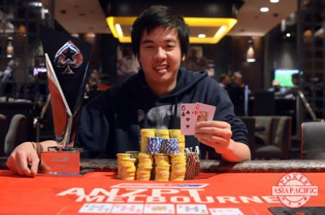 Edison Nguyen Conquers Record-Breaking 2014 PokerStars.net ANZPT Melbourne Main Event