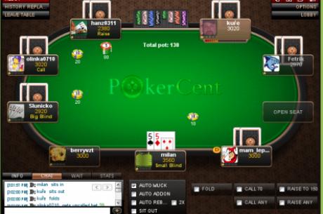 Ліцензія PokerCent призупинена