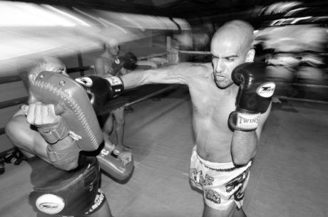 Off the Felt with Ronnie Bardah: Training Muay Thai
