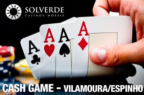 10 Horas de Cash Game Amanhã à Noite em Espinho e Vilamoura