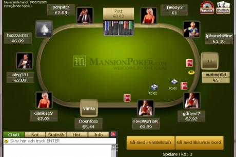 Το Mansion Poker αποχωρεί από την Αγγλία