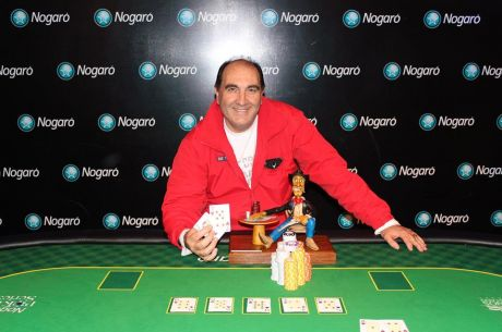 Julio Arocena ganó la sexta fecha de las Nogaró Poker Series
