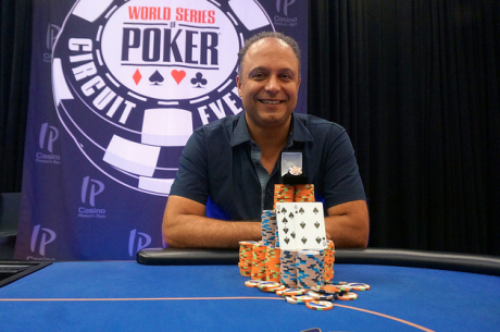 Mohammad Moeini Wins WSOP Circuit IP Biloxi Main Event for $106,101