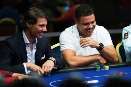 Nem találjátok ki, hogyan készül Rafa Nadal Ronaldo elleni pókerpárbajára!