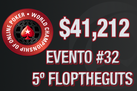 WCOOP: floptheguts Foi 5º no Evento #32 ($41,212.64)