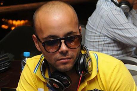 Elton Martins, Ricardo Faria e Bruno Leote na FT do Deep Stack Tanger