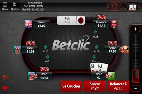 BetClic Poker : Une bankroll boostée à l'argent gratuit