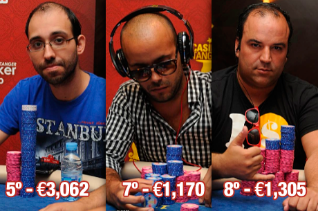 Deep Stack Tanger: Leote (5º), Elton (7º) e Ricardo Faria (8º) na FT