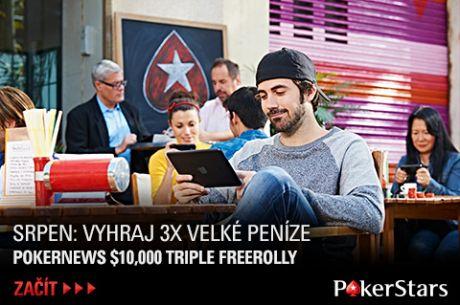 Kvalifikujte se na exkluzivní $10.000 freeroll PokerStars