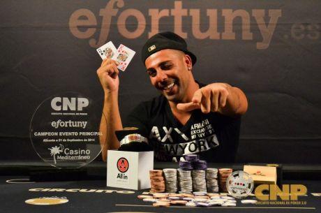 Circuito Nacional de Poker: Manuel Martín consigue la victoria y un premio de 18.700€