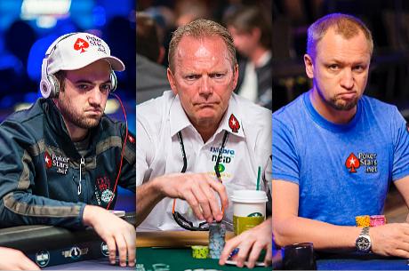 Joe Cada, Marcel Luske e Alex Kravchenko Dispensados pela PokerStars
