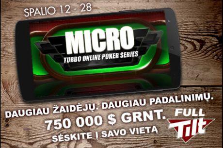 Artimiausioje MTOPS serijoje bus išdalinta nemažiau nei 750,000 dolerių