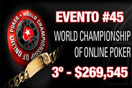 Vê José Quintas em acção na Mesa Final do Evento #45 do WCOOP (Hole Cards)
