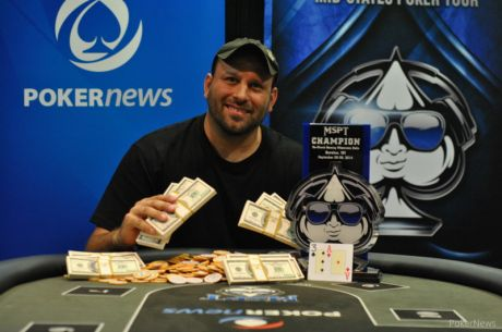 Benjamin Berlowski Wins MSPT Ho-Chunk Gaming Wisconsin Dells for $90,632