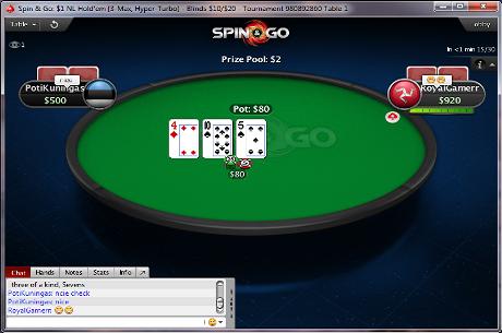 PokerStars пусна Sit&Go хипер-турбо лотарийки с до $30k...
