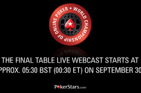 Sledujte webcast z finále Main Eventu WCOOP 2014