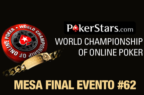 "Rui ""sousinha23"" Sousa na Mesa Final do Evento #62 WCOOP com Hole Cards"