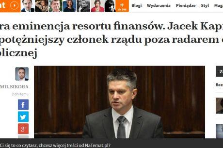 """Natemat.pl prześwietla Kapicę: """"albo jest idiotą, albo ma w tym interes"""""""