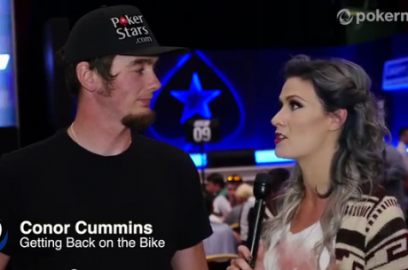 Profesionální motocyklový závodník Connor Cummins mluví o své nehodě v roce 2010