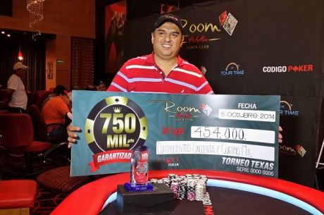 La final del Room Poker Club 750K en Guadalajara