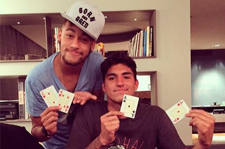 Neymar Quebra AA de Gabriel Medina em Poker Caseiro em Barcelona