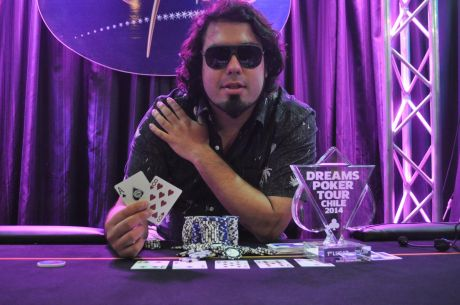 Dreams Poker Tour; back to back de Oscar Alache.