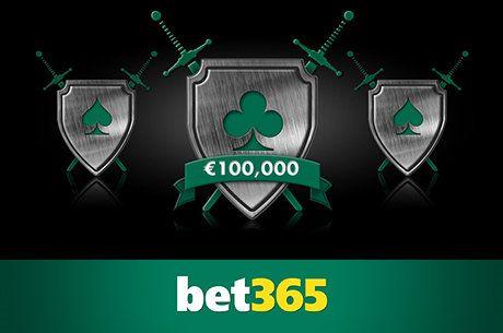 Bitwa na bet365 - 100 tysięcy euro do zgarnięcia w darmowych turniejach!