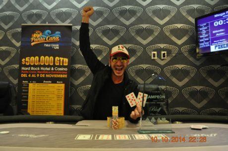 "Bluff Poker Festival; High Roller Aaron ""el diablo""  Olechnowicz  y clasificados del..."