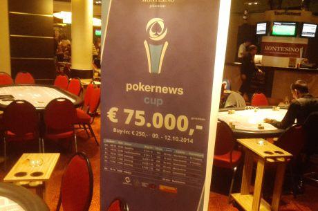 Sledujte živé vysielanie z viedenského Pokernews Cup-u