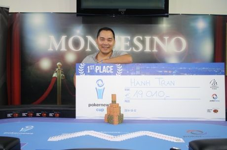 Hanh Tran Wins the 2014 PokerNews Cup Vienna Main Event