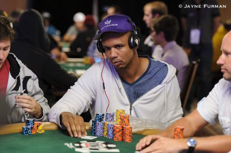 Phil Ivey at the Feature Table: Two Hands from the 2014 WSOP Main Event, Day 4