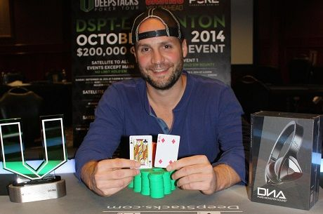 Ryan Smith Wins Huge DeepStacks Poker Tour in Edmonton