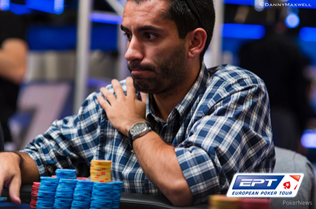 "João ""Naza114"" Vieira É 8º de 16 no Main Event PokerStars EPT Londres"