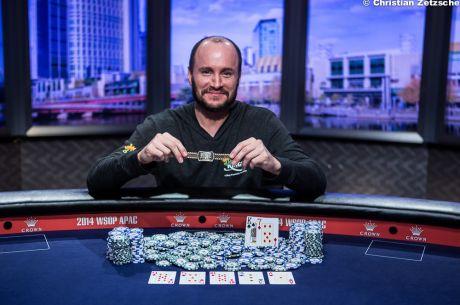 WSOP APAC: Mike Leah Vence High Roller $25K e Conquista a Primeira Bracelete (AU$600,000)!