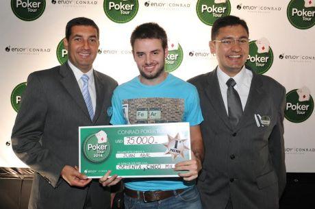 Juan Martín Abal se llevó el Conrad Poker Tour