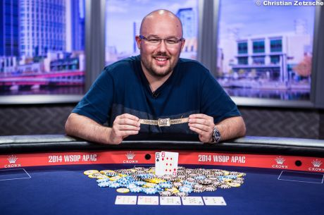 Scott Davies Defeats Jack Salter To Win 2014 WSOP Asia-Pacific Main Event for $850,000