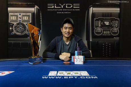 Andrew Chen vyhrál £10,300 High Roller event na EPT London !