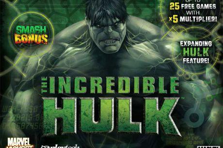 de.Casinosmash Tipp: The Incredible Hulk Slot