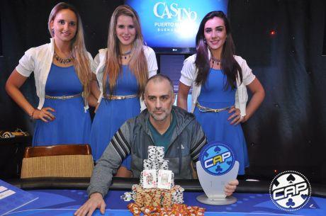 En una semana de campeones, Gustavo Bisiach se consagró en el CAP