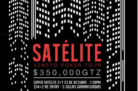 ¡Se viene satélite al Veneto Poker Tour!